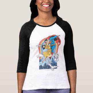 Superman & Lois in Yellow Tee Shirts