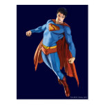 Superman Looking Down Post Cards