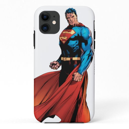 Superman Looks Front iPhone 11 Case