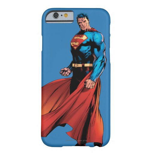 Superman Looks Front Barely There iPhone 6 Case