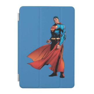 Superman Looks Front iPad Mini Cover