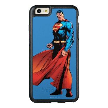Superman Looks Front OtterBox iPhone 6/6s Plus Case
