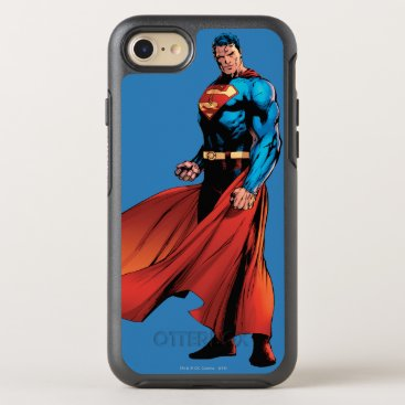 Superman Looks Front OtterBox Symmetry iPhone 8/7 Case