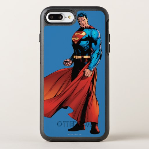 Superman Looks Front OtterBox Symmetry iPhone 8 Plus/7 Plus Case