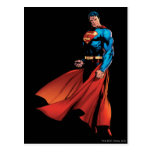 Superman Looks Front Postcard