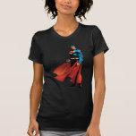 Superman Looks Front Tee Shirt