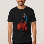 Superman Looks Front Tshirts