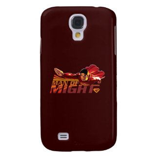 Superman Man of Might Samsung Galaxy S4 Covers