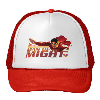 Superman Man of Might Trucker Hat