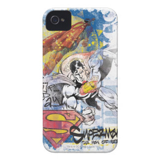 Superman Man of Steel iPhone 4 Case-Mate Case