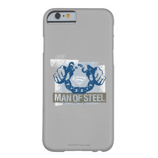 Superman Man of Steel Barely There iPhone 6 Case