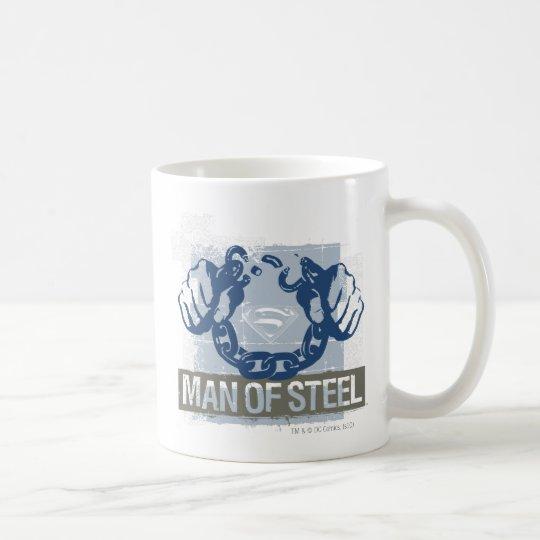 Superman Man of Steel Coffee Mug