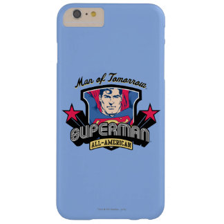 Superman - Man of Tomorrow Barely There iPhone 6 Plus Case