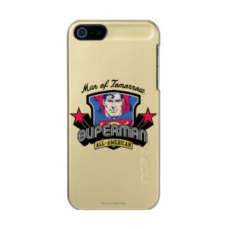 Superman - Man of Tomorrow Metallic Phone Case For iPhone SE/5/5s