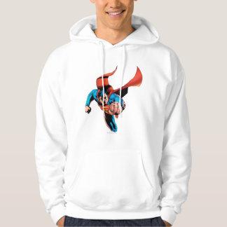 Superman moving forward hoodie