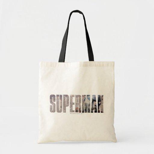 Superman Name Bags