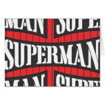 Superman Name Pattern Card