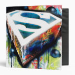 Superman Neon Graffiti Binder