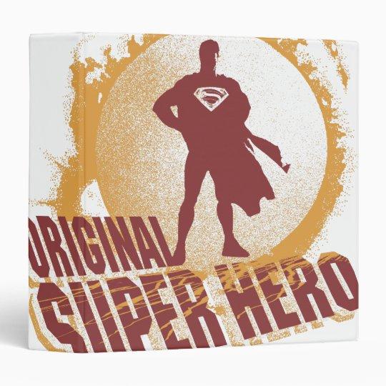 Superman Original Super Hero 3 Ring Binder