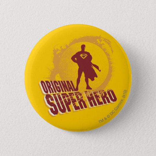 Superman Original Super Hero Pinback Button
