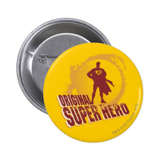 Superman Original Super Hero Pinback Button