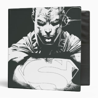 Superman Outline Binder