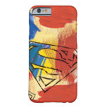 Superman Painted Logo Barely There iPhone 6 Case