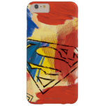 Superman Painted Logo Barely There iPhone 6 Plus Case