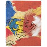 Superman Painted Logo iPad Cover