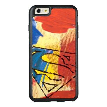 Superman Painted Logo OtterBox iPhone 6/6s Plus Case