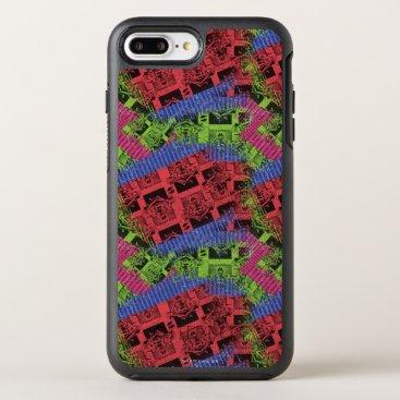 Superman Pattern OtterBox Symmetry iPhone 8 Plus/7 Plus Case