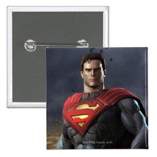 Superman Pinback Button