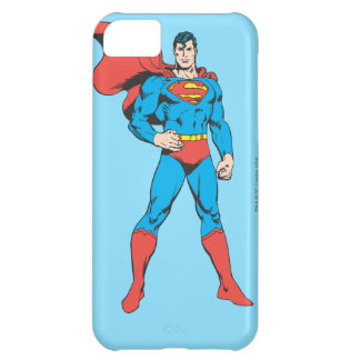 Superman Posing 2 Cover For iPhone 5C