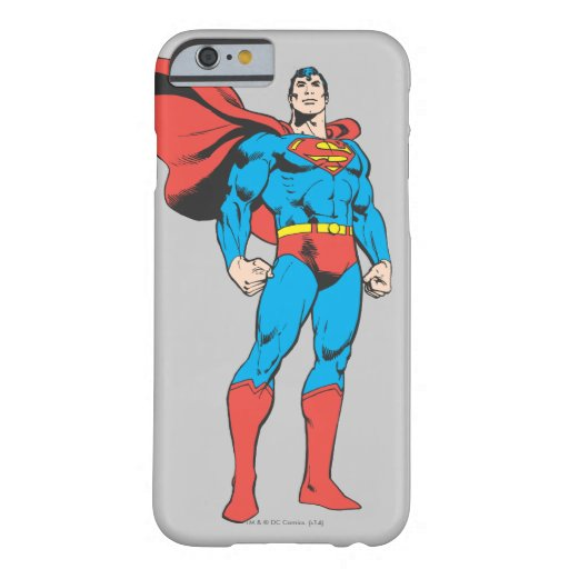 Superman Posing 3 Barely There iPhone 6 Case