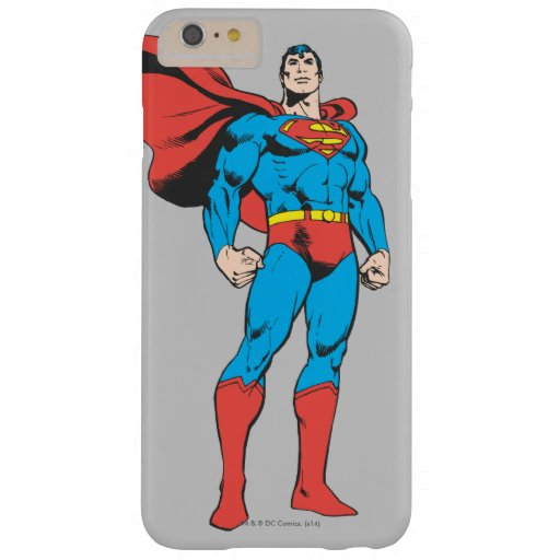 Superman Posing 3 Barely There iPhone 6 Plus Case