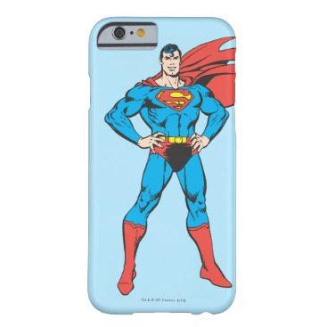Superman Posing Barely There iPhone 6 Case