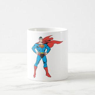 Superman Posing Coffee Mug