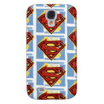 Superman Red and Blue Pattern Galaxy S4 Cover