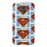 Superman Red and Blue Pattern Galaxy S5 Covers