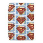 Superman Red and Blue Pattern iPad Mini Cover