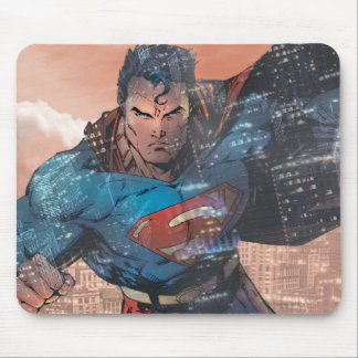 Superman - Red Mouse Pad