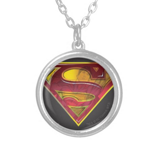 Superman Reflection S-Shield Necklaces