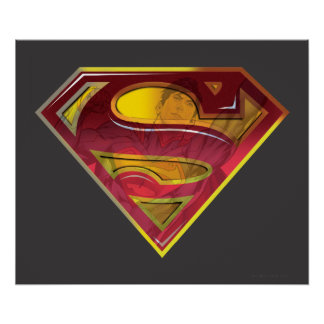 Superman Reflection S-Shield Posters