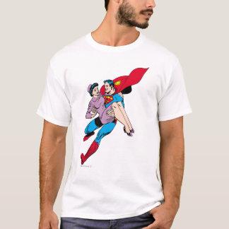 Superman rescues Louis T-Shirt