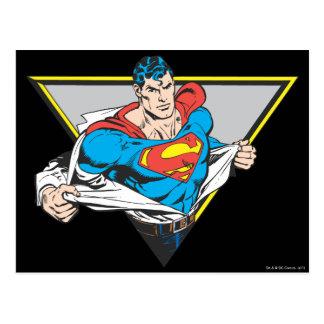 Superman Revealed Postcard