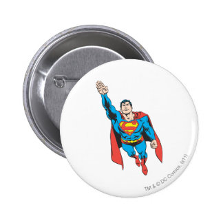 Superman Right Arm Raised 2 Inch Round Button