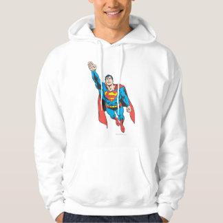 Superman Right Arm Raised Hoodie