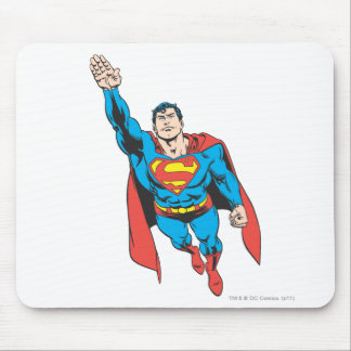 Superman Right Arm Raised Mouse Pad