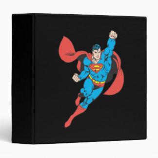 Superman Right Fist Raised Binder