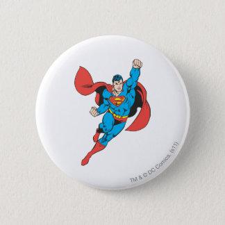 Superman Right Fist Raised Button